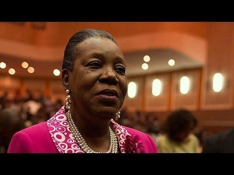 Catherine Samba-Panza, nueva presidenta interina de la República Centroafricana