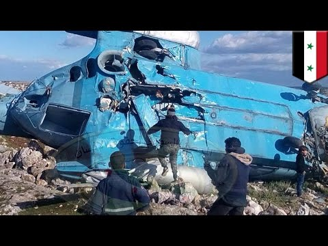 Syria helicopter crash lands in rebel territory, one crew member executed, others taken