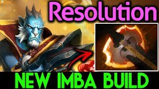 Resolution Dota 2 [Phantom Lancer] New Imba Build Battle Fury?