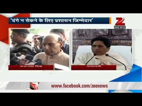 Saharanpur riots: Mayawati blames SP, BJP for fanning communal violence