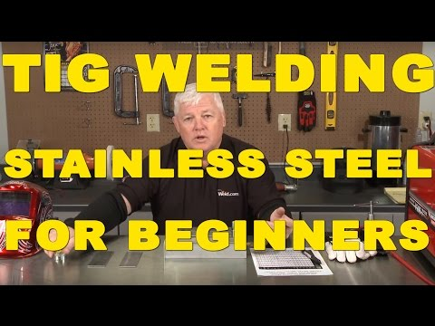 TIG Welding Stainless Steel for Beginners | TIG Time