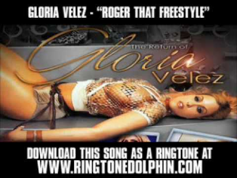 GLORIA VELEZ - ROGER THAT FREESTYLE [ New Video + Lyrics + Download ]