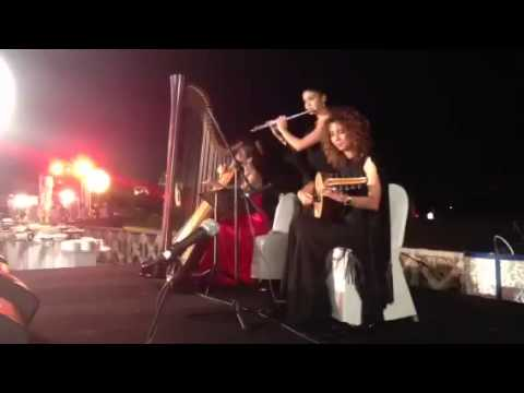 The Canela band kelma helwa - Lidia Harp