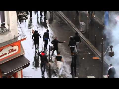 Jews Fight Back Against Muslim Mob In Paris
