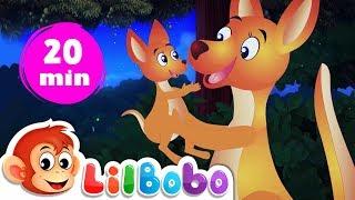 Rock A Bye Baby   Little BoBo Nursery Rhymes   FlickBox Kids Songs   Lullaby