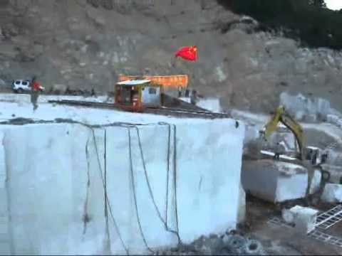 Quarry Equipment Fantini Machine For Cutting Marble Youtube
