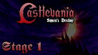 Castlevania - Simon's Destiny (Stage 1)