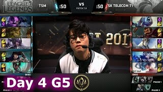 TSM vs SK Telecom T1 | Day 4 LoL MSI 2017 Group Stage | TSM vs SKT G2 Mid Season Invitational