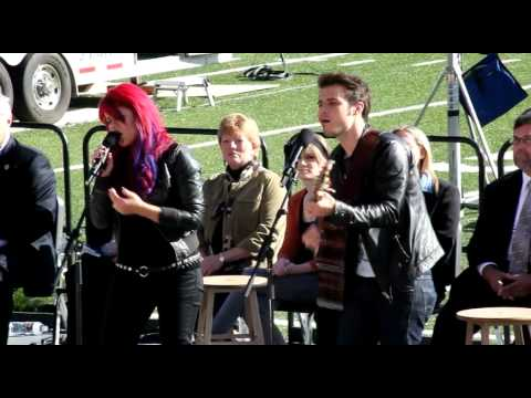 Kris Allen & Allison Iraheta Duet - The Scientist Music Videos