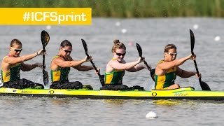 18.05.2014 -- 2014 ICF Canoe Sprint World Cup 2, Racice (CZE)