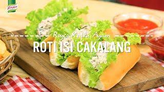 Resep Royco - Roti Isi Cakalang