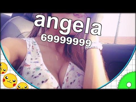 HELLO ANGELA!! AGARIO SUPER CLEAVAGE BOOBS EDITION! (THE MOST ADDICTIVE GAME EVER - Agar.io #63)
