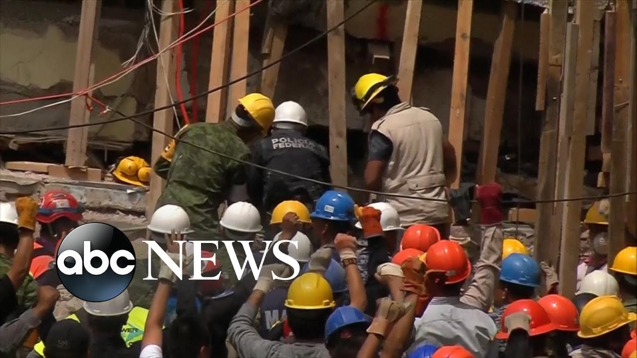 Rescuers search for survivors after Mexico earthquake