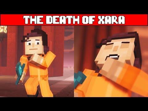 The Death of Xara MINECRAFT STORY MODE SEASON 2 EPISODE 5 (Season Finale)