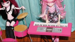 How to make an electronic keyboard for doll (Monster High, EAH, Barbie, etc)