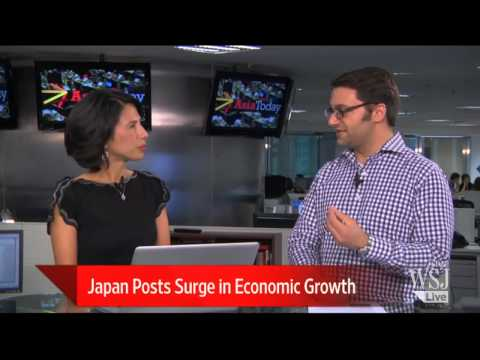 Japan GDP Growth Is a Boost for Abenomics