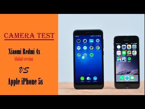 Сравнение камер Xiaomi Redmi 4x vs Iphone 5s.