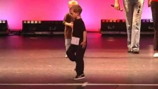 Breakdancing Clogging Kid