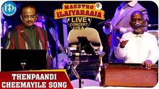 Maestro Ilaiyaraaja Live Concert - Thenpaandi Cheemayile Song - Ilaiyaraaja || San Jose, California