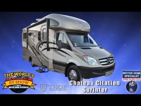 RV Reviews  New 2014 Mercedes Benz Sprinter Motorhomes by Thor (Best Diesel Class B Plus RV)