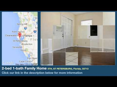 2-bed 1-bath Family Home for Sale in St Petersburg, Florida on florida-magic.com