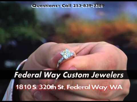 Federal Way Custom Jewelers (Des Moines WA) (Kent WA) Diamond Buyers Dealers Sellers