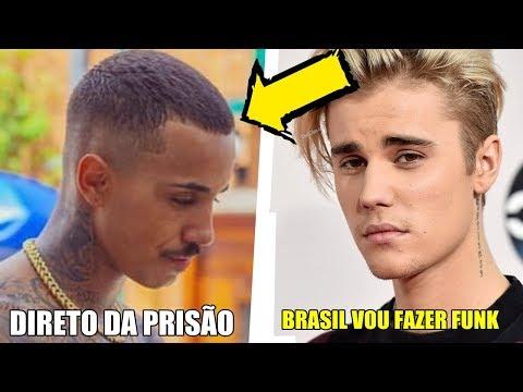 Mc Livinho Recebe Carta De Seu Irmao Que Esta Na Cadeia E Justin Bieber Vai Fazer Um Funk !