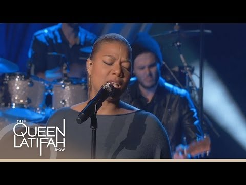 Queen Latifah Performs 'Just Another Day'