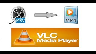 How to convert mkv movie file into mp4 , flv , avi using vlc media player  |  Hindi