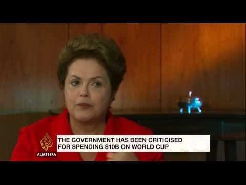 Q&A: Brazil's president defends hosting of 2014 World Cup