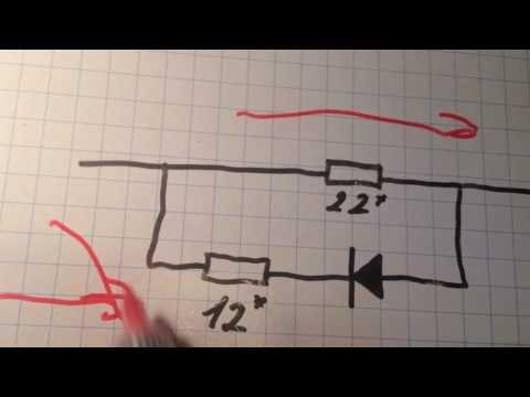 Управление полевым транзистором. Сопротивление на затворе.