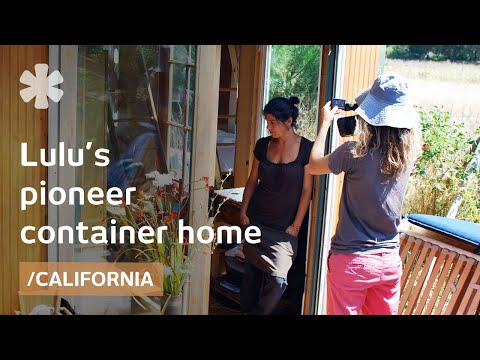 California DIY, shipping container tiny home and a cargo trailer bedroom