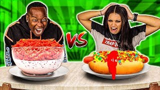 WEIRD & BIZARRE FOOD COMBINATION CHALLENGE