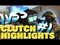 CS:GO I am the one and only #1 - 1vs5 Taser Clutch!