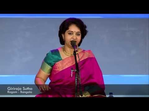 Giriraja Sutha Fusion By Saashwathi Prabhu video
