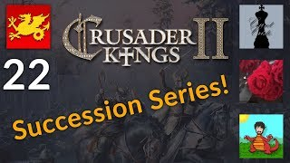 CK2 Holy Fury Succession Series w/ Cristo, Aldra and Rose! [22]