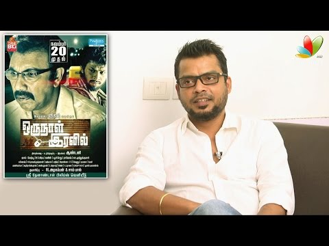 Anthony Interview : Wave length between myself and Sathyaraj worked well | Oru Naal Iravil
