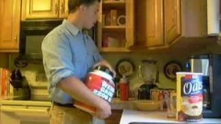 EATING BIG #1 - Teen Bodybuilder Nick Wright - BULKING MEALS