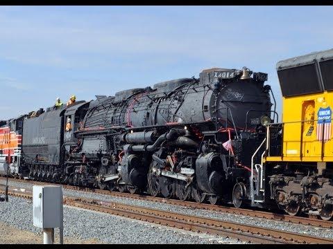 Big Boy 4014 Steam Train - The Road to Restoration: Pomona to Colton