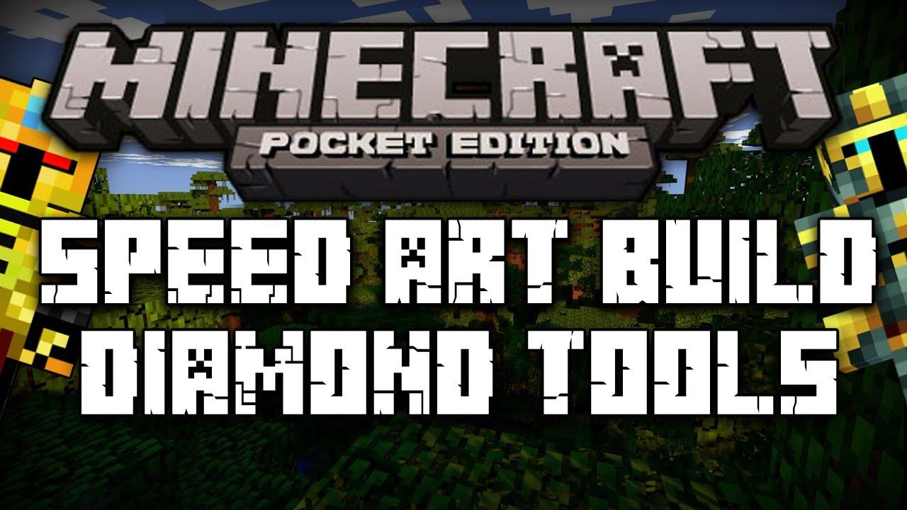 Minecraft Pe:diamond Shovel