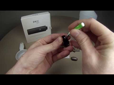 Pax Vaporizer Cleaning Video