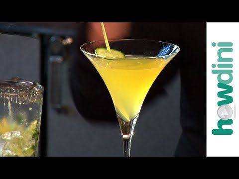 How to make the Zen Garden cocktail