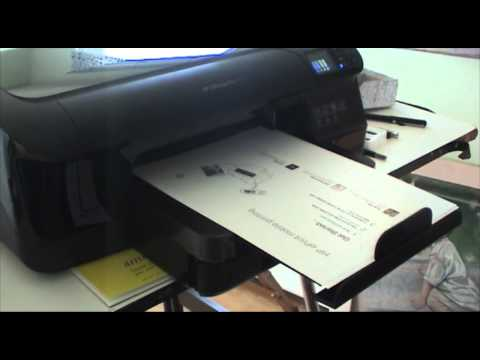 Tim's Gear Review 4: HP OfficeJet Pro 8100 Color Printer First Impressions