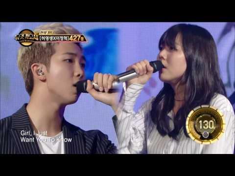 Download TVPP Rap Monster BTS  Umbrella    Duet Song Festival