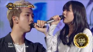 ?TVPP? Rap Monster (BTS) - Umbrella, ????(?????)- ?? @ Duet Song Festival