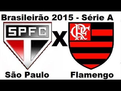 São Paulo 2 x 1 Flamengo - Brasileirão 2015 Série A - Jogo Completo