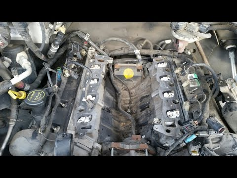 2005 Ford F-150 4.6 - intake manifold removal