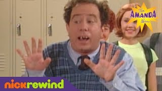 Mr. Gullible during a Fire Drill | The Amanda Show | NickRewind