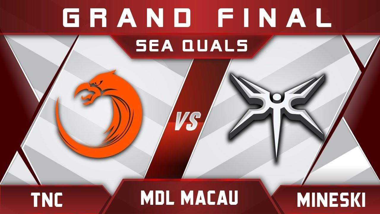 TNC vs Mineski Grand Final MDL Macau 2017 SEA Highlights Dota 2