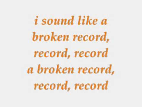 Jason Derulo - Broken Record Lyrics video